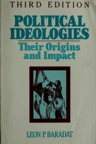 Cover of: Political ideologies by Leon P. Baradat